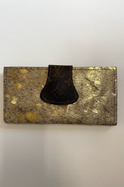 Thompson Upcycled LV Cowhide full size wallet