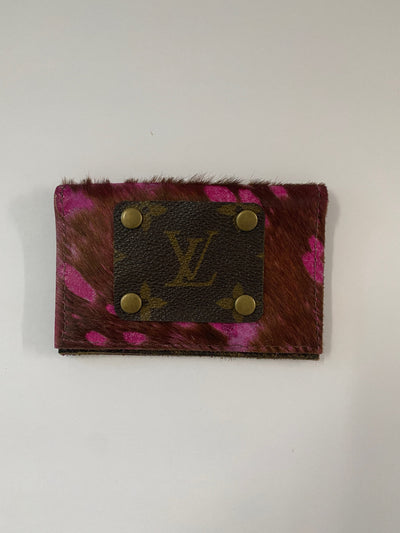 Harvin Upcycled LV Cowhide wallet
