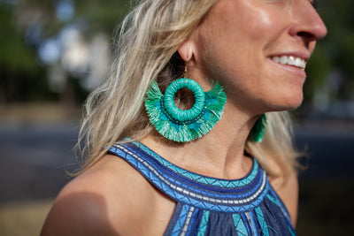 Whitney tassel Earrings