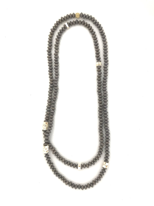 Kaitlyn long wrap necklace