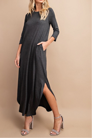 Estherville dress, heather gray