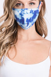 Litchfield Mask Tie Dye, blue