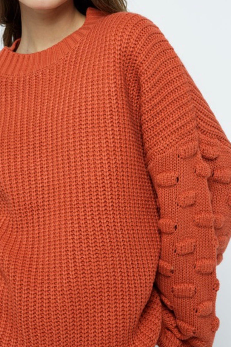 Boone Hall Sweater, Pumpkin