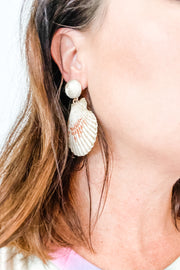 Captiva shell earrings