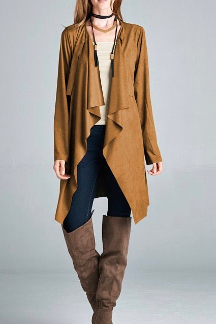 Gros Ventre Suede Trench coat - One size