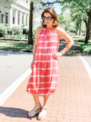 Molly Tie Dye Midi dress