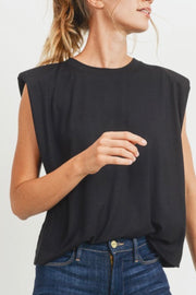 Stephanie tee, black