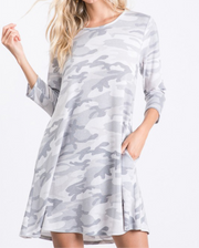 Newberry camo dress