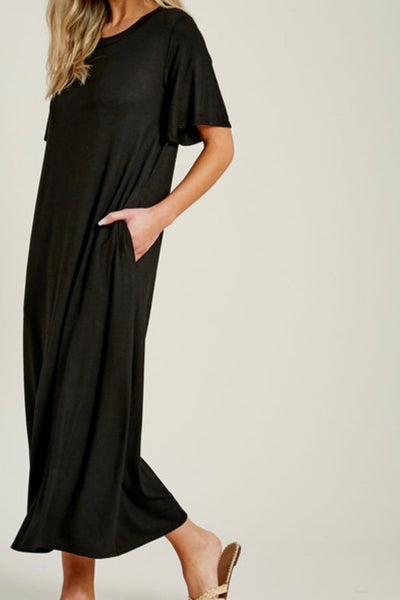Louise Dress, black
