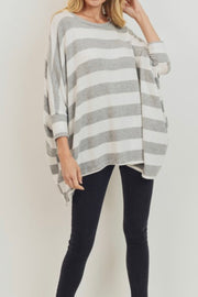 Sandra Stripe boxy top