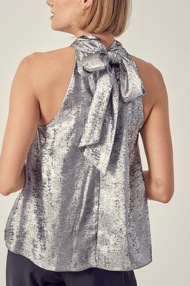 Forest Acres top, silver