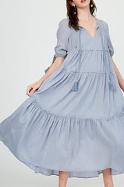 Hughes tiered dress