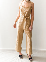 Green Turtle Cay Front-Tie Jumpsuit
