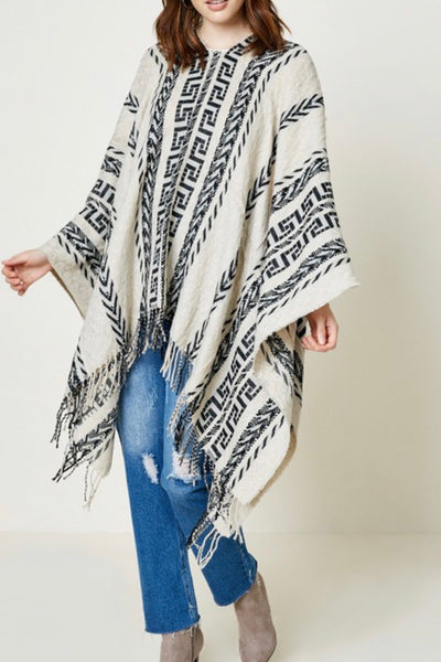Telluride Embroidered Poncho