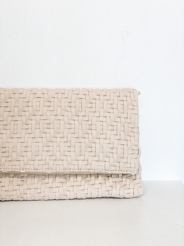 Greenwich clutch, beige