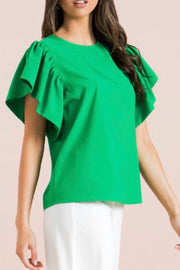 Boise top, green