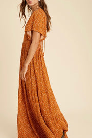 Hungerford Dress, rust
