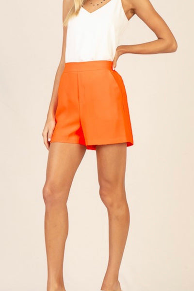 Angela shorts, orange