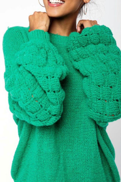 Boone Hall Sweater, Kelly Green