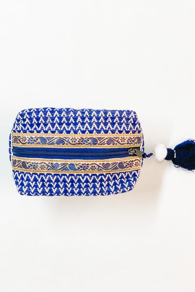 Seychelles makeup bag