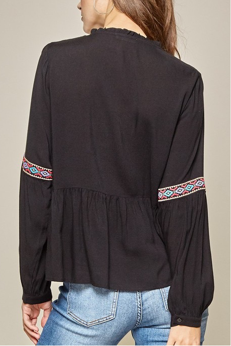 Cook Embroidered top