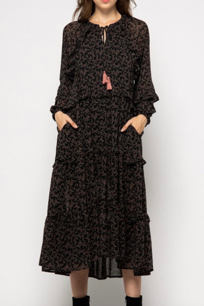 Lake City Dress, Black