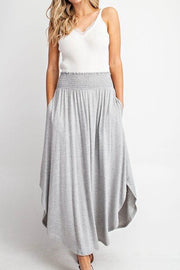 Ricehope skirt, heather gray