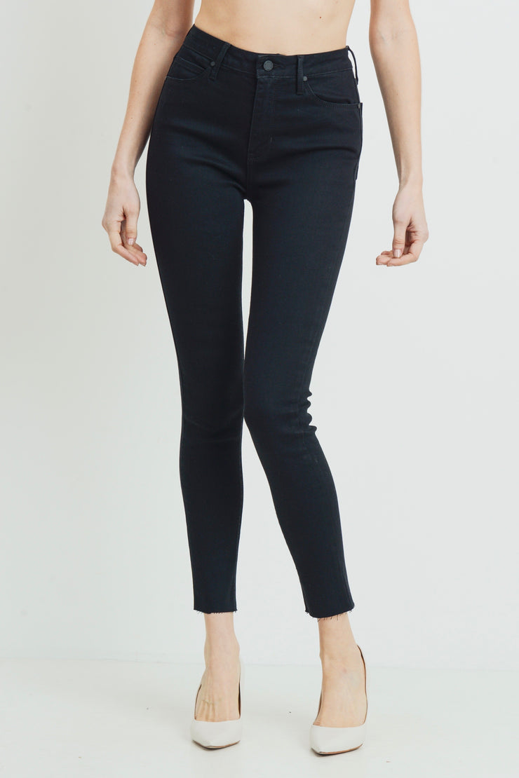 The Magic scissor cut jeans, black