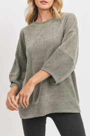 Reedy Tunic Top, sage