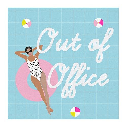 Out of Office Napkins