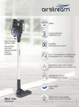 Load image into Gallery viewer, Airstream Stick Vac 22V 2YEAR Warranty
