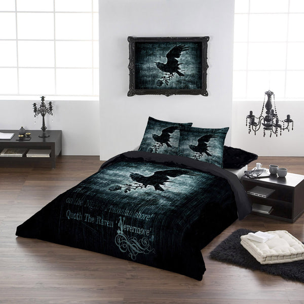 Alchemy Gothic Nevermore Duvet Cover Set