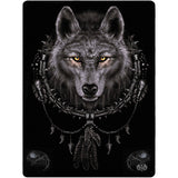 Wolf Dream Fleece Blanket