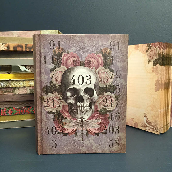 Lilac Skull 403 Journal – Notebook