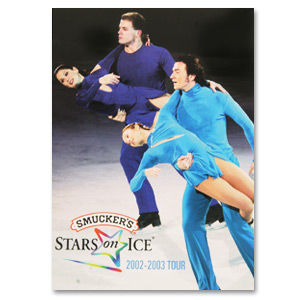 2002-03 Stars on Ice Tour Program