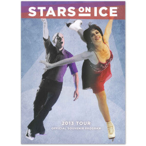 2012-13 Stars on Ice Tour Program