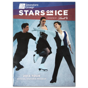 2013 Stars on Ice Tour Program - Canada