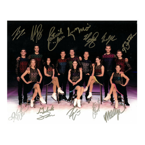 2018 Stars on Ice Canada Autographed Cast Photo