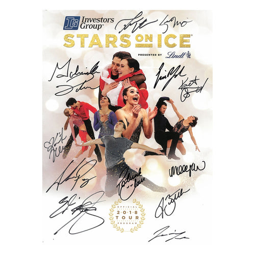2018 Stars on Ice Canada Tour Program - Autographed