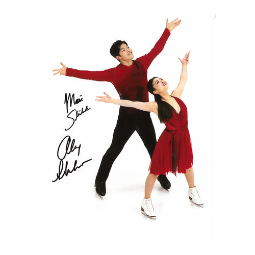 2018 Maia & Alex Shibutani Autographed Photo