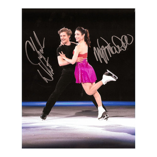 2018 Meryl Davis & Charlie White Autographed Photo