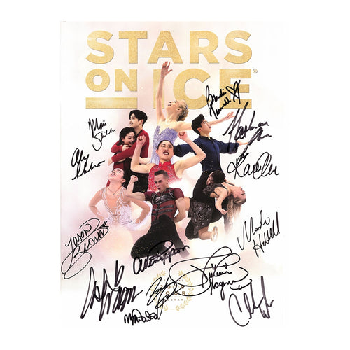 2018 Stars on Ice Tour Program - Autographed