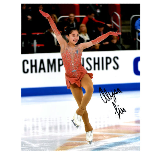 2019 Alysa Liu Autographed Photo