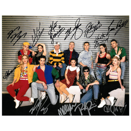 2019 Stars on Ice Canada Autographed Cast Photo