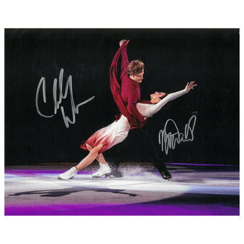 2019 Meryl Davis & Charlie White Autographed Photo