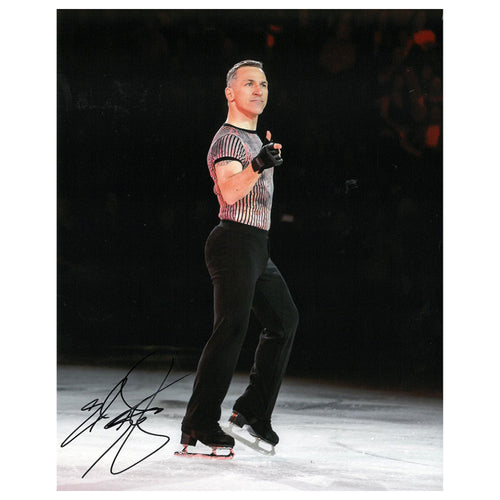 2019 Elvis Stojko Autographed Photo