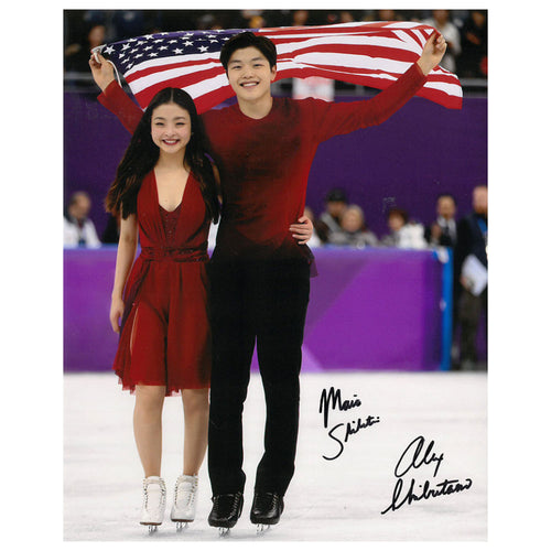 2019 Maia & Alex Shibutani Autographed Photo