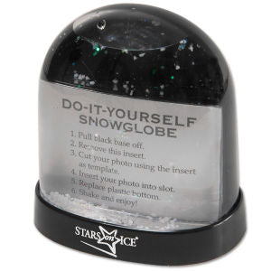 Stars On Ice Snow Globe