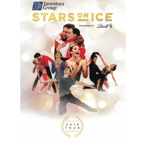 2018 Stars On Ice Tour Program - Canada