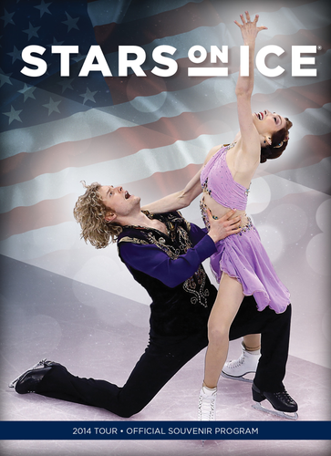 2014 Stars on Ice Tour Program
